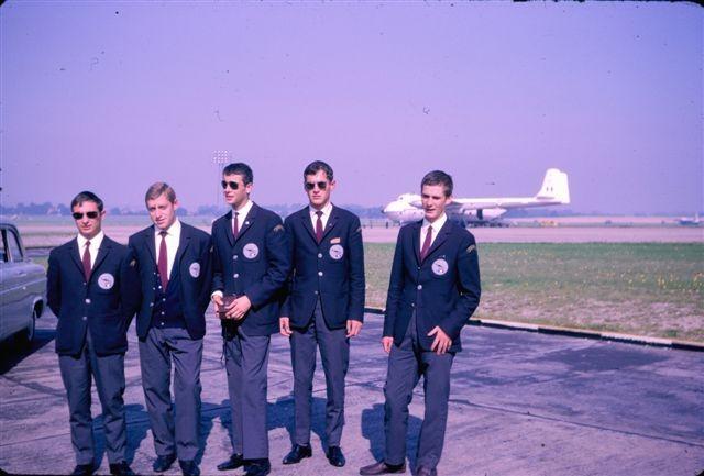 Un trésor dans nos archives : Cadets de l'Air 1966 !