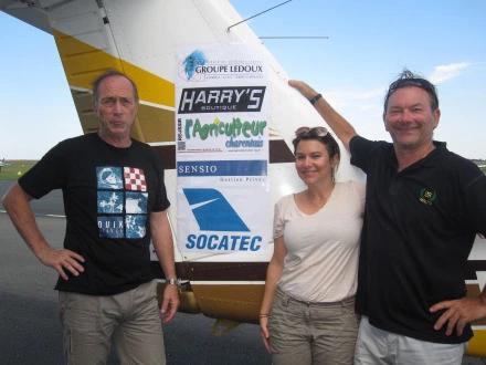 Envolée est fière de soutenir deux équipages au Toulouse – Saint Louis