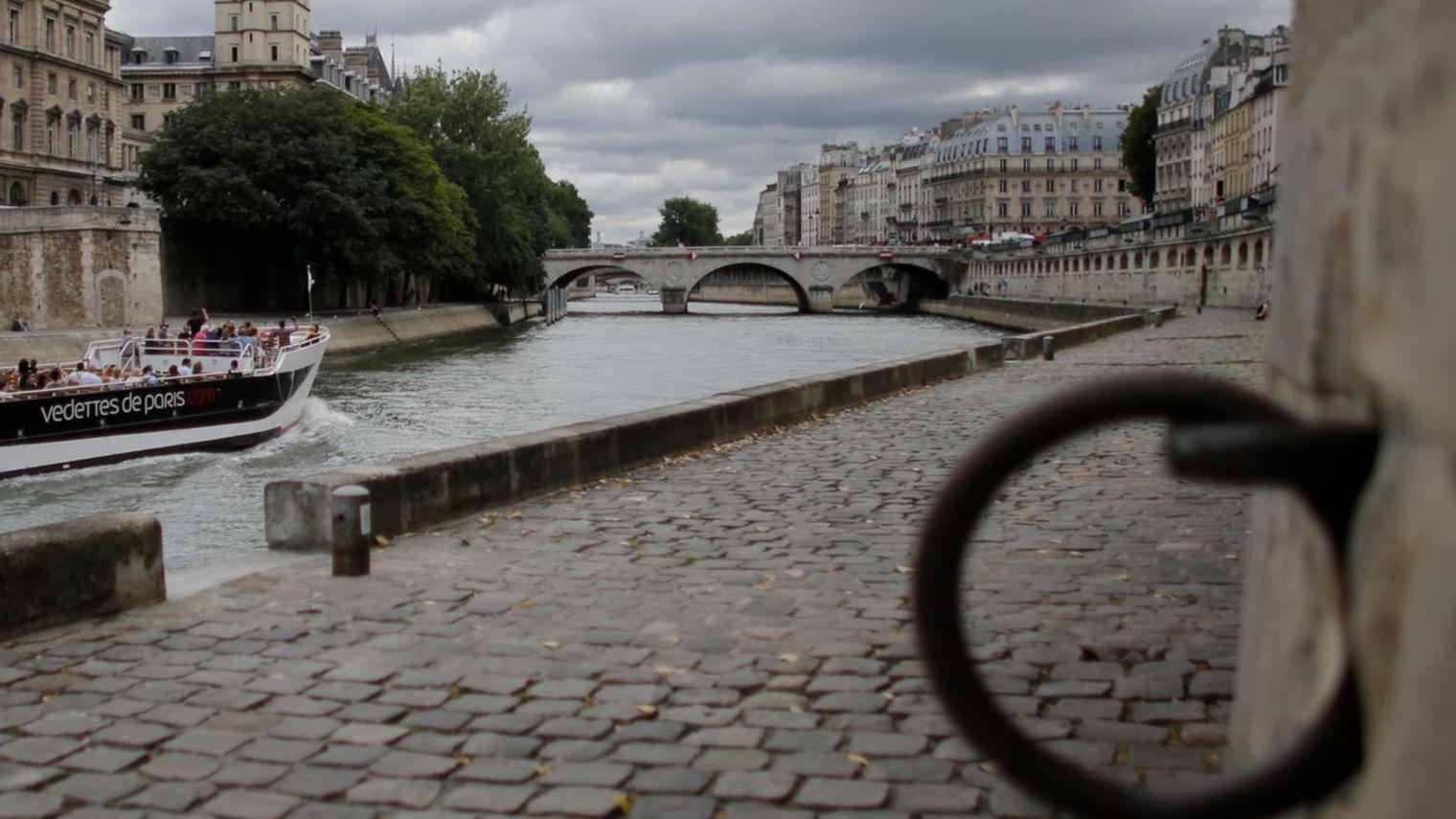 Retour des Cadets 2016 – Pizza Rosé sur les quais de Paris