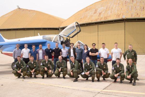 Journée exceptionnelle avec la Patrouille de France